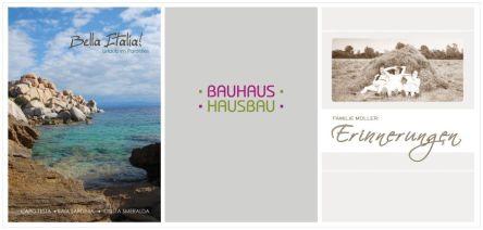 Fotobuchcover Gestaltung
