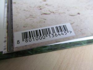 Barcode Aufdruck