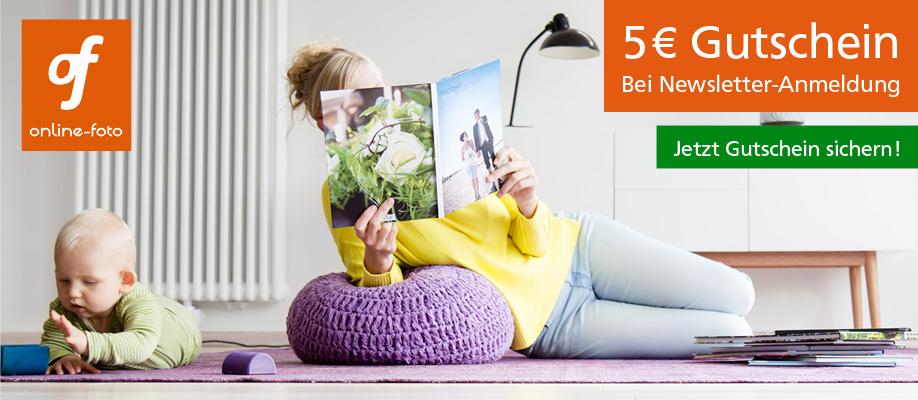 CEWE Fotobuch Gutschein über online-foto.de