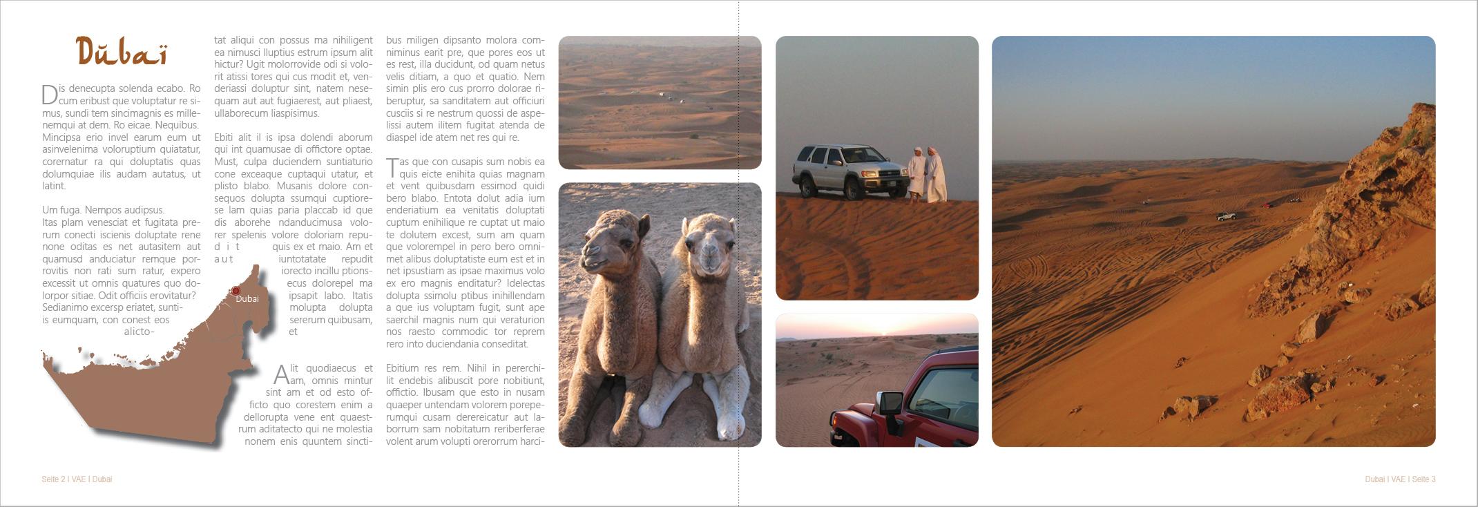Gestaltungsrichtlinien für ein Fotobuch