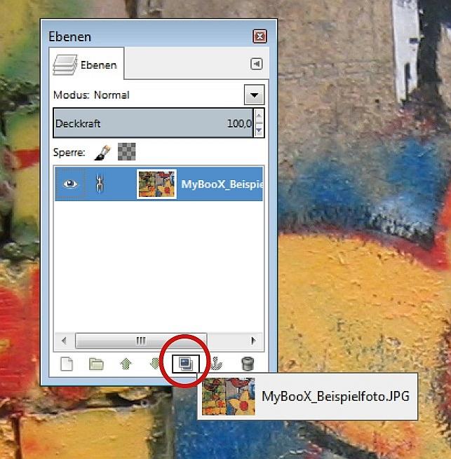 Bildbearbeitung im LAB-Modus: Ebene duplizieren