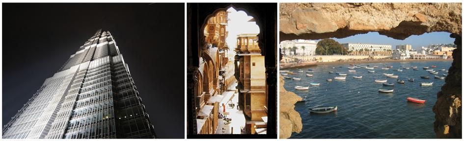 Fotos mit verschiedenen Perspektiven