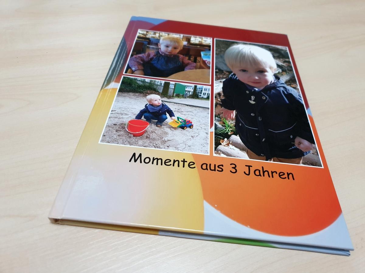 Das Cover unseres Fotobuchs von posterXXL aus dem Fotobuch Test 2019