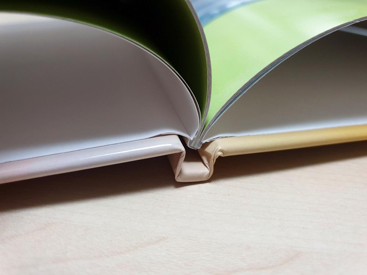 Die Klebebindung: Die Hochzeit von Cover und Buchseiten ist gut gelungen